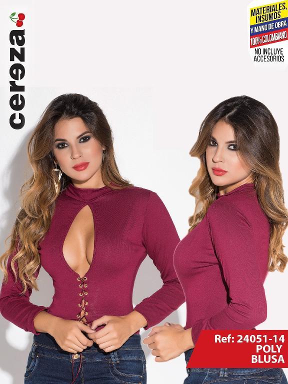 f618531b6 Blusa Moda Colombiana Cereza